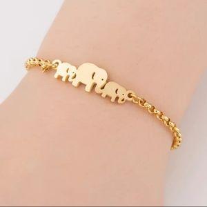 STAINLESS STEEL ELEPHANT BRACELET